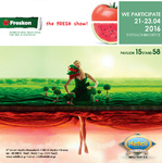 The Nefeli Fruit S.A. participates in the 2nd International Trade Fact of Fruits & Vegetables